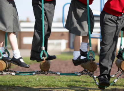 Poorer children less active than wealthier peers, survey finds